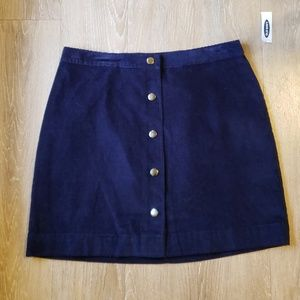 Old Navy Skirts - Corduroy Button Up Skirt